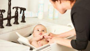 Baby baden