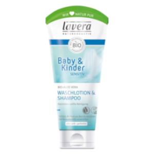Waschlotion für Haut & Haare von Lavera