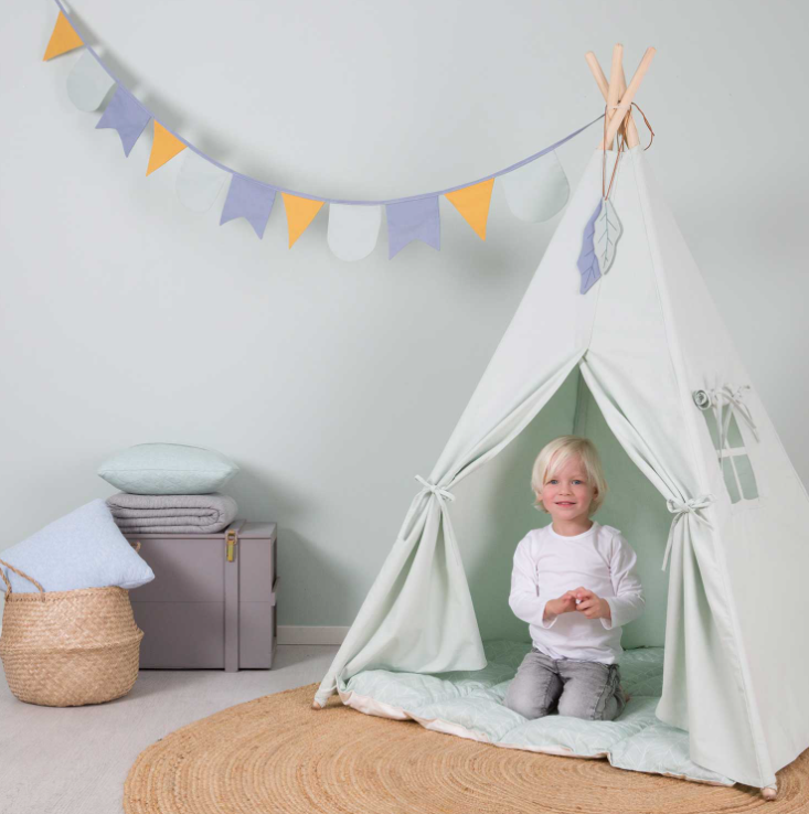 Little Dutch Spielzelt Tipi Mint