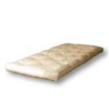 Woodly Matratze aus unbehandelter Baumwolle für Flurbett Pure