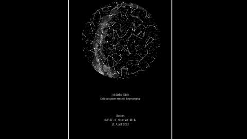 Sternenhimmel Poster Rabattcode