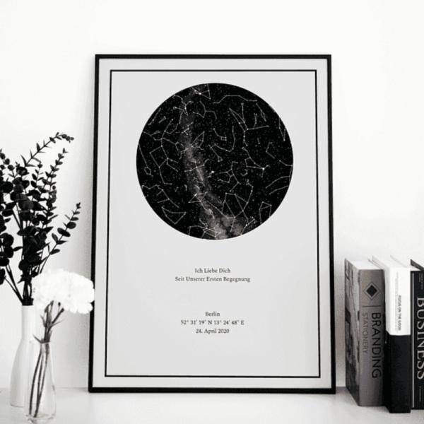 Das Sternenhimmel Poster