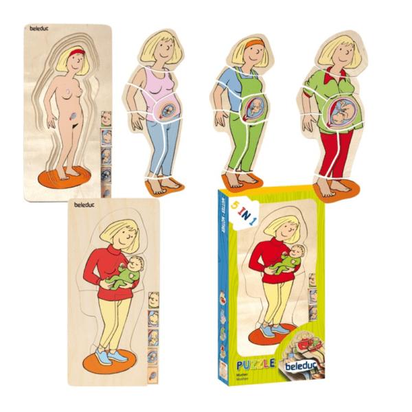 Lagenpuzzle Dein Körper – Mutter