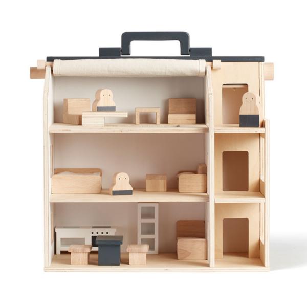 Kids Concept tragbares Puppenhaus